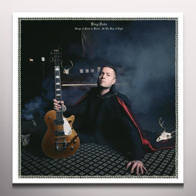 King Dude SONGS OF FLESH & BLOOD-IN THE KEY OF LIGHT Vinyl Record - Blue Vinyl