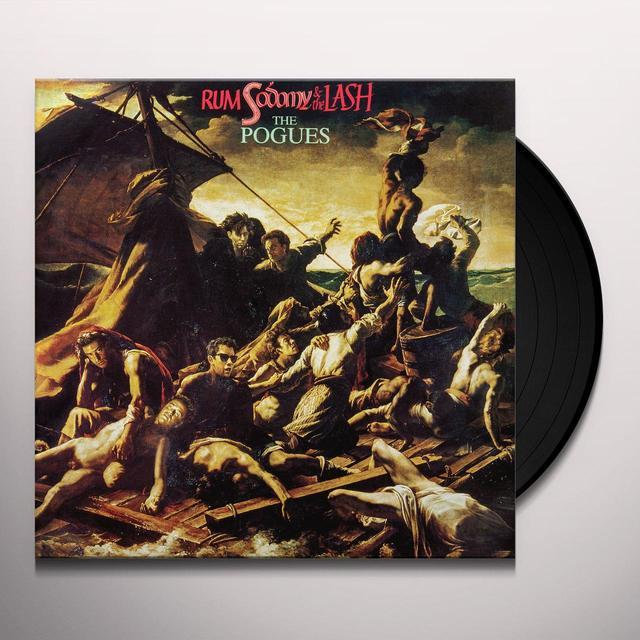 The Pogues RUM SODOMY & THE LASH Vinyl Record - 180 Gram Pressing