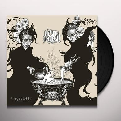 Year Of The Goat UNSPEAKABLE Vinyl Record