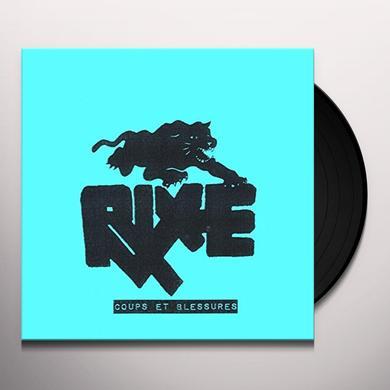 RIXE COUPS ET BLESSURES Vinyl Record - UK Import