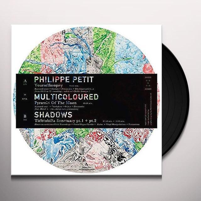 Philippe Petit , Philippe Petit MULTICOLOURED SHADOWS Vinyl Record - UK Release