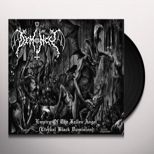 Demoncy EMPIRE OF THE FALLEN ANGEL Vinyl Record - UK Import