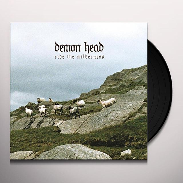 DEMON HEAD RIDE THE WILDERNESS Vinyl Record - UK Release