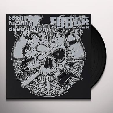 TOTAL FUCKING DESTRUCTION / F.U.B.A.R. SPLIT Vinyl Record