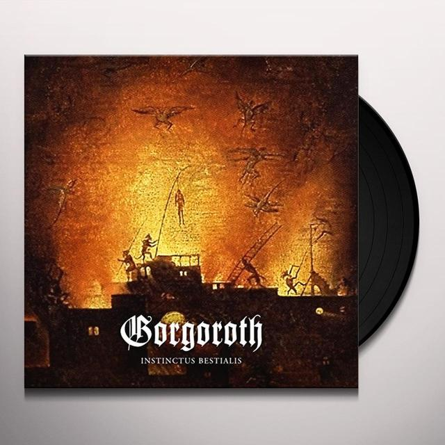 Gorgoroth INSTINCTUS BESTIALIS: LIMITED Vinyl Record - Limited Edition, UK Release
