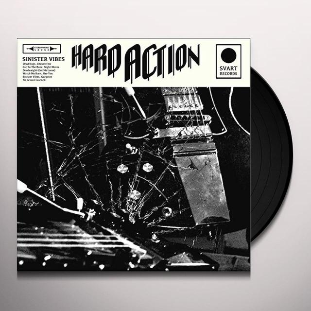 HARD ACTION SINISTER VIBES Vinyl Record - UK Import