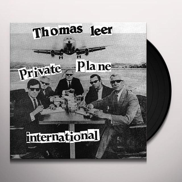 Thomas Leer PRIVATE PLANE / INTERNATIONAL Vinyl Record