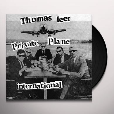 Thomas Leer PRIVATE PLANE / INTERNATIONAL Vinyl Record