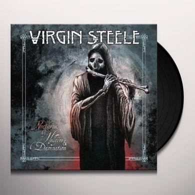 Virgin Steele NOCTURNES OF HELLFIRE & DAMNATION Vinyl Record