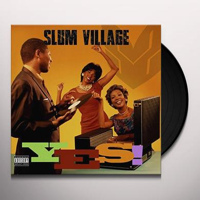 Slum Village YES Vinyl Record