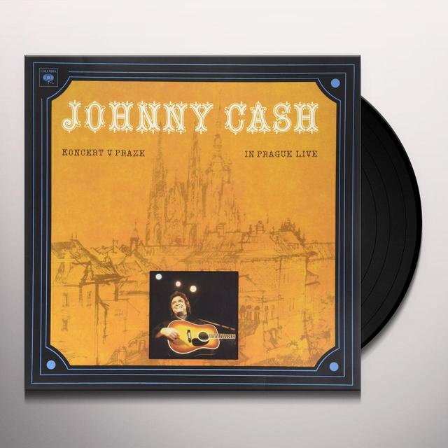 Johnny Cash KONCERT V PRAZE (IN PRAGUE-LIVE) Vinyl Record - Gatefold Sleeve