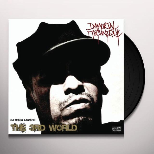 Immortal Technique 3RD WORLD Vinyl Record