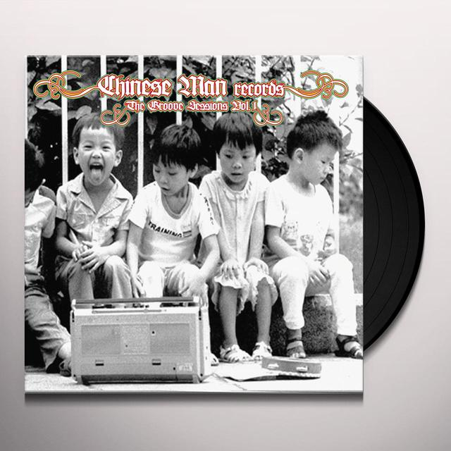 Chinese Man GROOVE SESSIONS 1 Vinyl Record