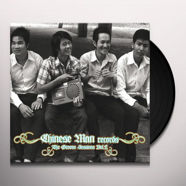 Chinese Man GROOVE SESSIONS 2 Vinyl Record