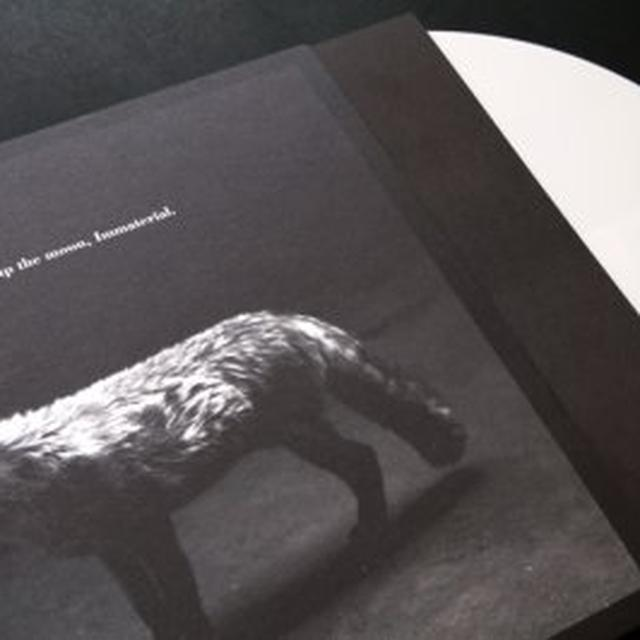 Hanging Up The Moon IMMATERIAL Vinyl Record - Colored Vinyl, Limited Edition, White Vinyl