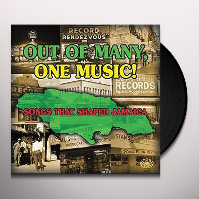 OUT OF MANY ONE MUSIC / VARIOUS (UK) OUT OF MANY ONE MUSIC / VARIOUS Vinyl Record - UK Release