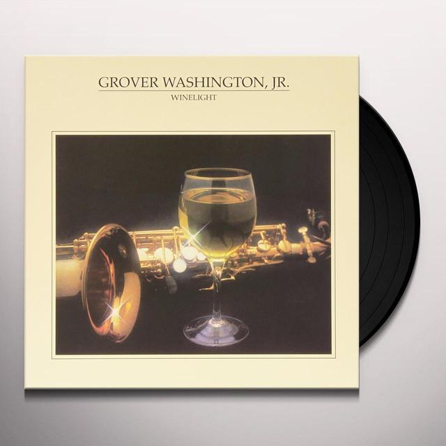 Grover Washington, Jr. WINELIGHT Vinyl Record - Holland Import
