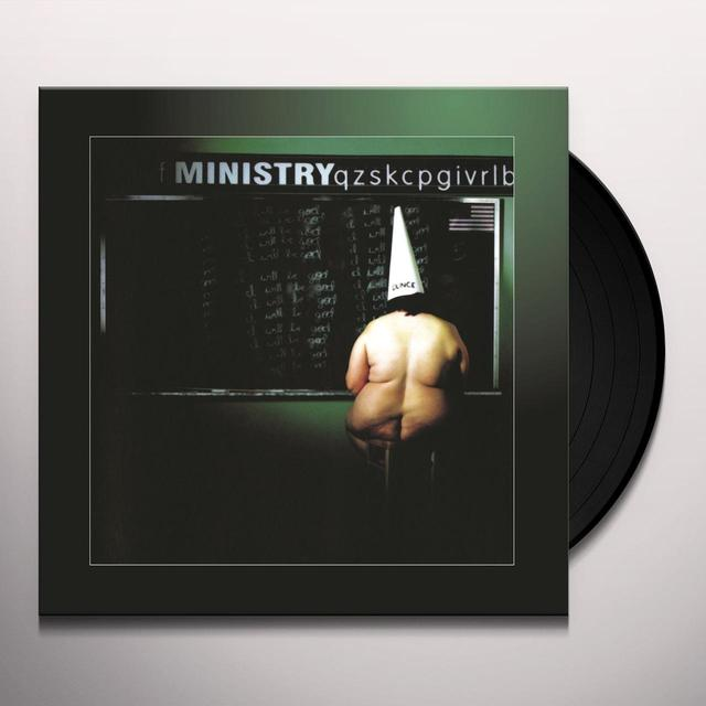 Ministry DARK SIDE OF THE SPOON Vinyl Record - Holland Import