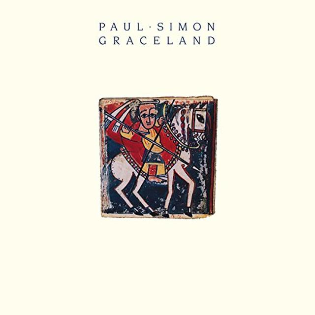 Paul Simon GRACELAND Vinyl Record - Holland Release