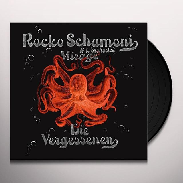 Rocko Schamoni VERGESSENEN Vinyl Record - Holland Import