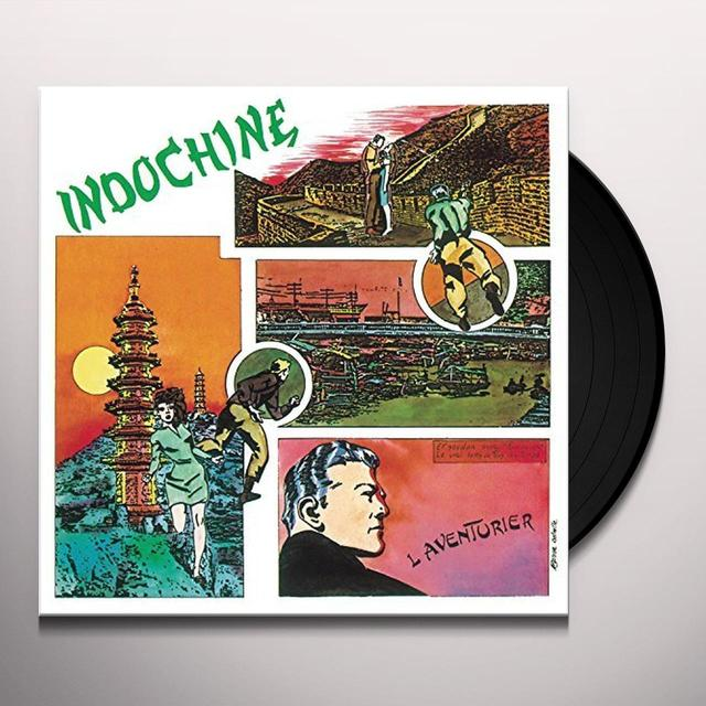 Indochine L'AVENTURIER Vinyl Record