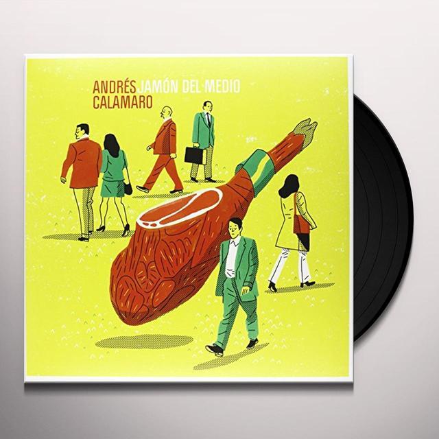 Andres Calamaro JAMON DEL MEDIO (ARG) Vinyl Record
