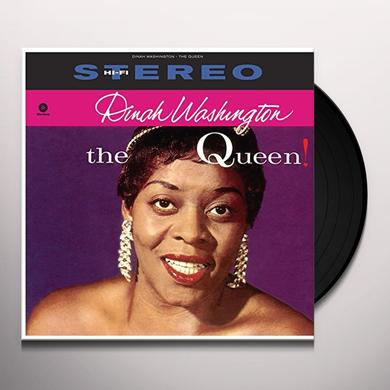 Dinah Washington QUEEN Vinyl Record - Spain Release