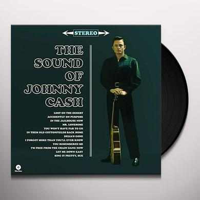 SOUND OF JOHNNY CASH Vinyl Record - Spain Release