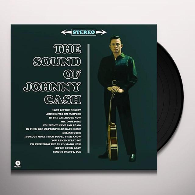 SOUND OF JOHNNY CASH Vinyl Record - Spain Import