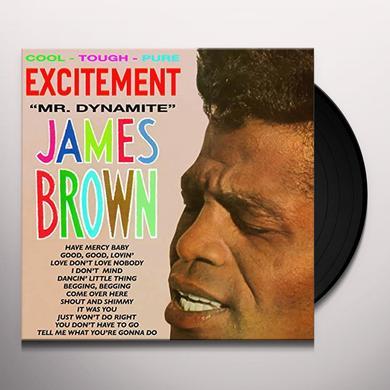 James Brown & His Famous Flames EXCITEMENT MR. DYNAMITE Vinyl Record - Spain Import