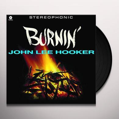 John Lee Hooker BURNIN' Vinyl Record - Spain Import