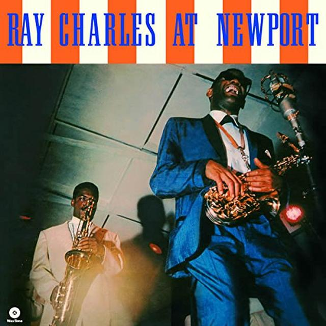 Ray Charles AT NEWPORT Vinyl Record - Spain Release