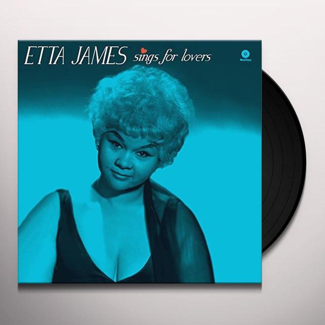 Etta James SINGS FOR LOVERS Vinyl Record - Spain Import