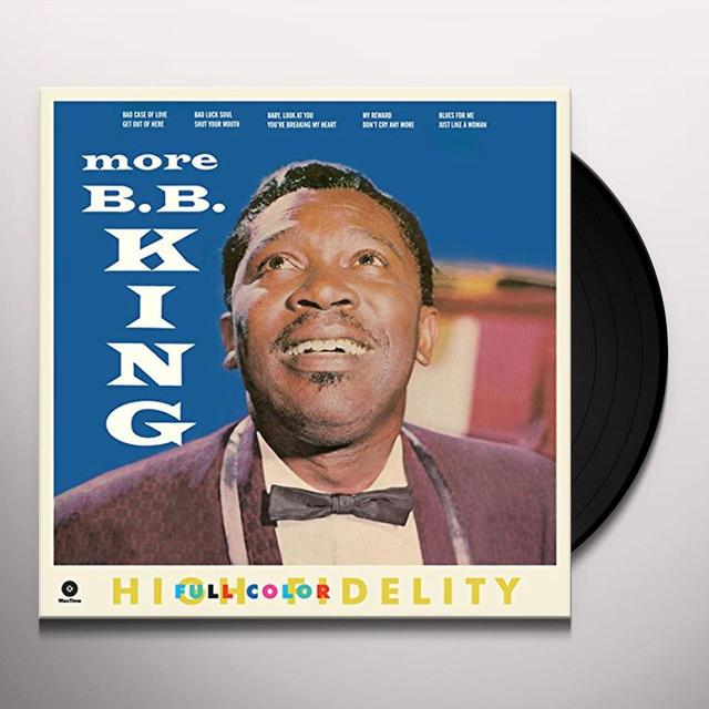 B.B. King MORE Vinyl Record - Spain Import