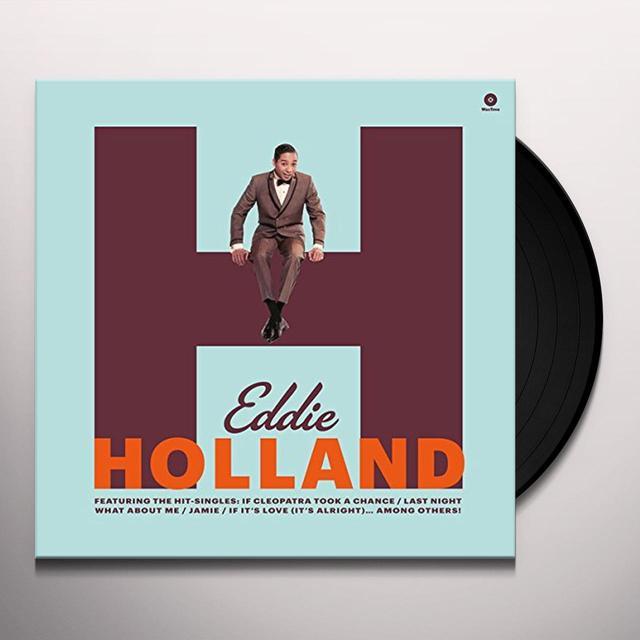 Eddie Holland FIRST ALBUM Vinyl Record - Spain Import
