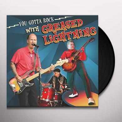 GREASED LIGHTNING YOU GOTTA ROCK WITH Vinyl Record
