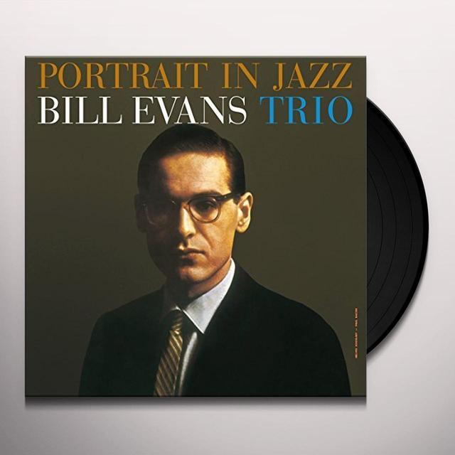 Bill Evans PORTRAIT IN JAZZ Vinyl Record - UK Import