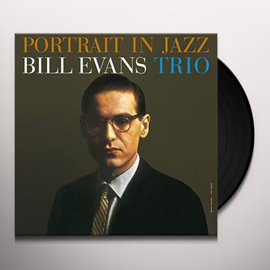 Bill Evans PORTRAIT IN JAZZ Vinyl Record - UK Import