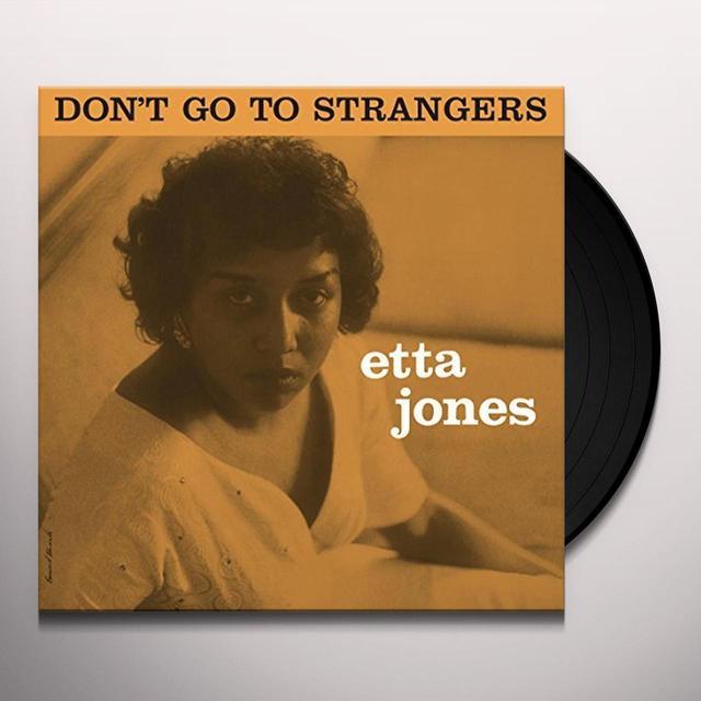 Etta Jones DON'T GO TO STRANGERS Vinyl Record - UK Import