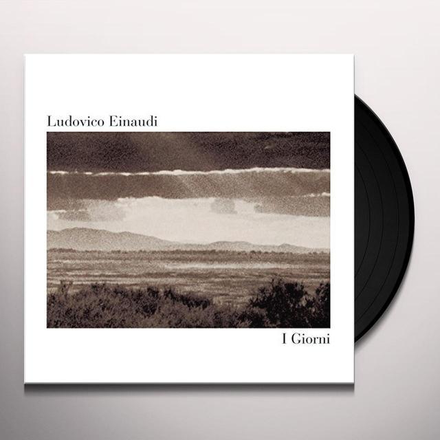 Ludovico Einaudi I GIORNI Vinyl Record - Italy Import