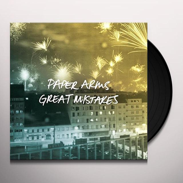 Paper Arms GREAT MISTAKES Vinyl Record - Australia Import