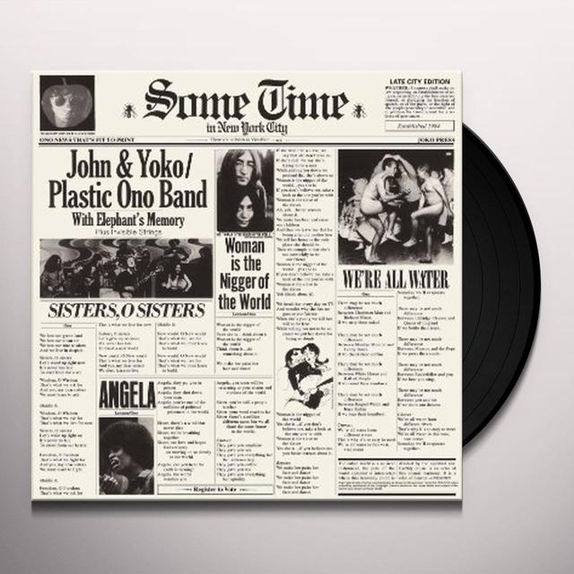 Lennon,John SOME TIME IN NEW YORK CITY Vinyl Record - UK Import
