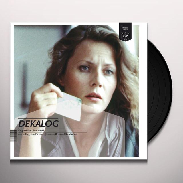 Zbigniew Preisner DECALOGUE Vinyl Record - w/CD