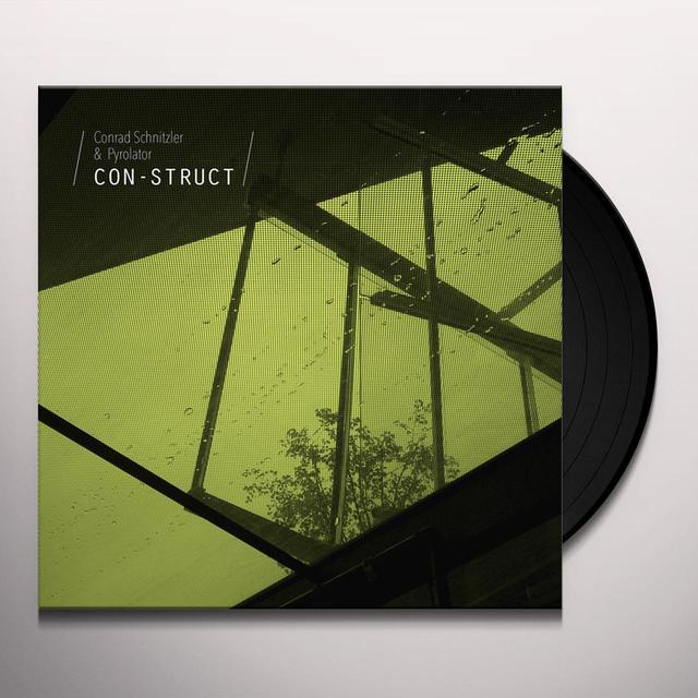 Conrad Schnitzler & Pyrolator CON-STRUCT Vinyl Record - w/CD