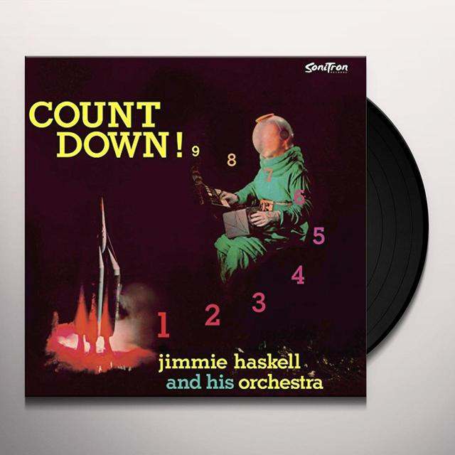 Jimmie Haskell COUNT DOWN Vinyl Record