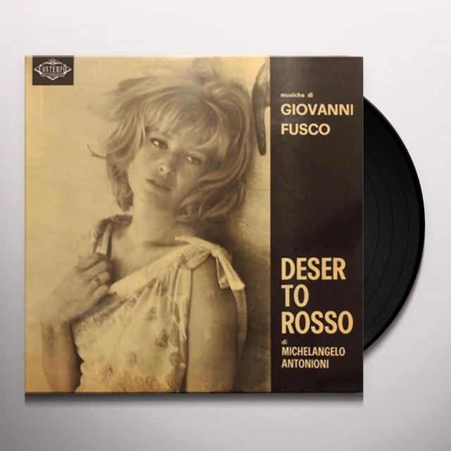 Giovanni Fusco DESERTO ROSSO / O.S.T. Vinyl Record