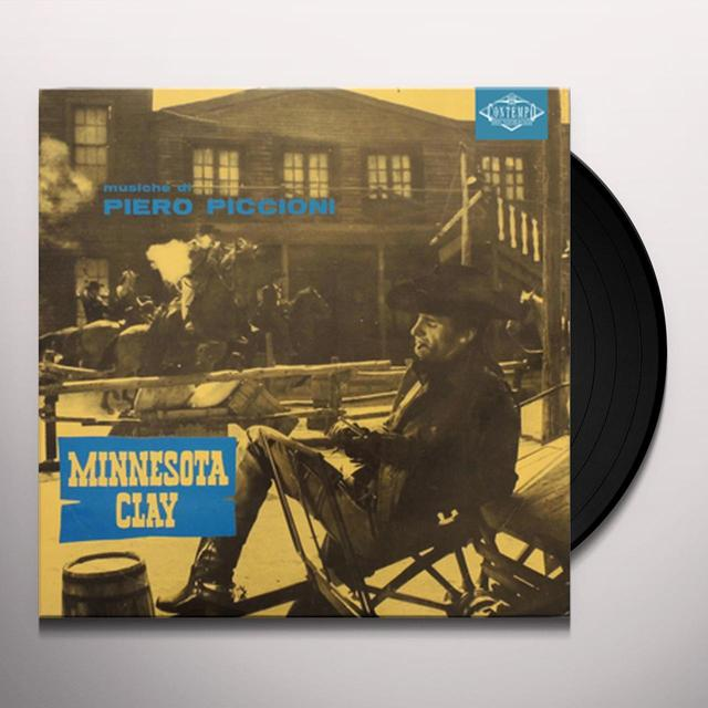 Piero Piccioni MINNESOTA CLAY / O.S.T. Vinyl Record