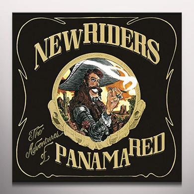 New Riders Of The Purple Sage ADVENTURES OF PANAMA RED Vinyl Record - Colored Vinyl, Gatefold Sleeve, Purple Vinyl
