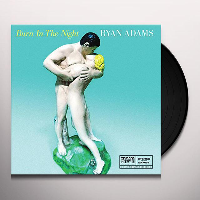 Ryan Adams BURN IN THE NIGHT Vinyl Record
