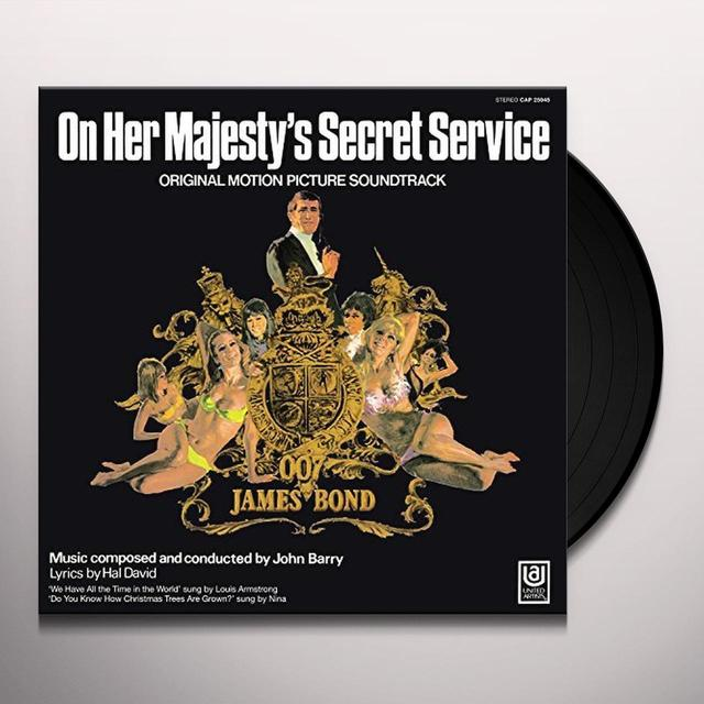 ON HER MAJESTY'S SECRET SERVICE / O.S.T. Vinyl Record